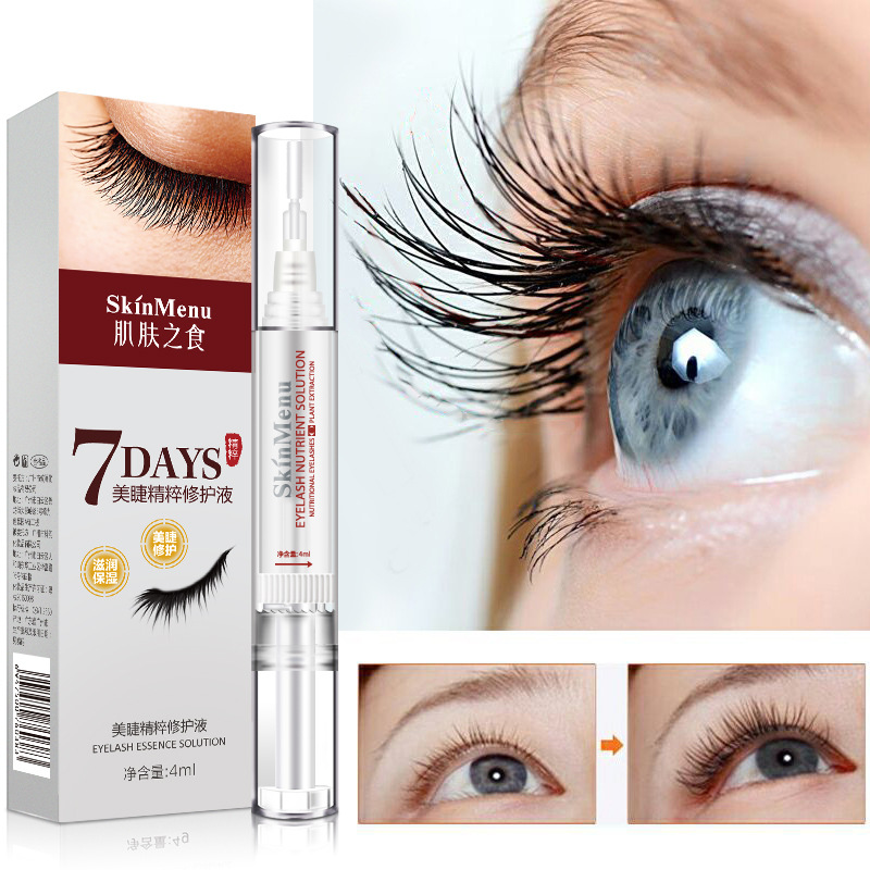 Powerful Eyelash Growth Strengthen Serum Eye Lash Enhancer Eyelash Promoter Long Lashes Nursing Growth Liquid Easy To Use TSLM2