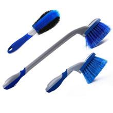 Kit de limpeza do carro ferramenta de pneu de carro escova roda hub escova borda escova de lavagem de carro kit limpo profundo pneu escova conjunto limpo sem sem becos sem saída bl