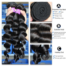 Loose Wave Hair Weave Bundles