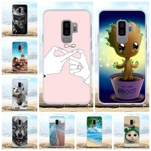 For Samsung Galaxy S9 Plus Cover TPU G965F G965U G965W Case Cute Patterned Coque