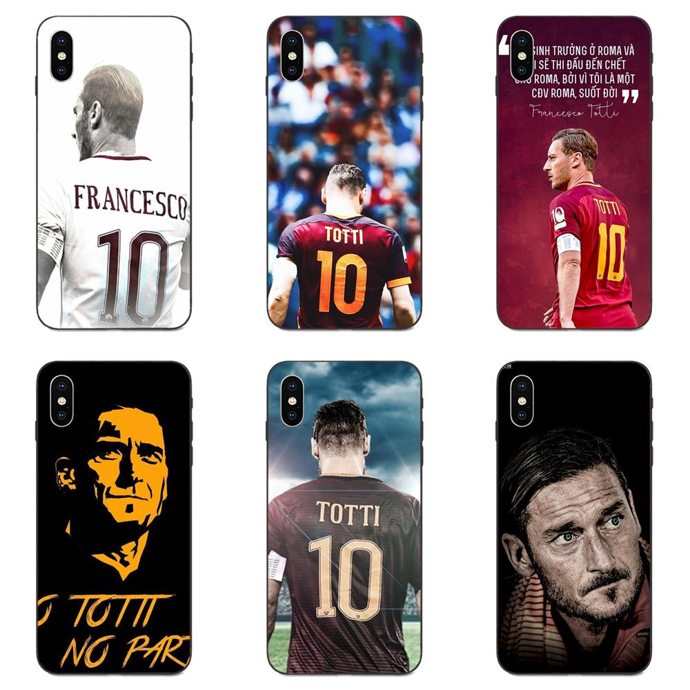 Francesco Totti For Apple iPhone 4 4S 5 5S SE 6 6S 7 8 Plus X XS Max XR On Sale Luxury Cool Phone Accessories Case