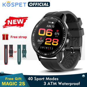 Smartwatch 2020 New KOSPET MAGIC 2s Smart Watch Men 3ATM Waterproof Bluetooth Fitness Tracker Clock Women For Xiaomi Android IOS