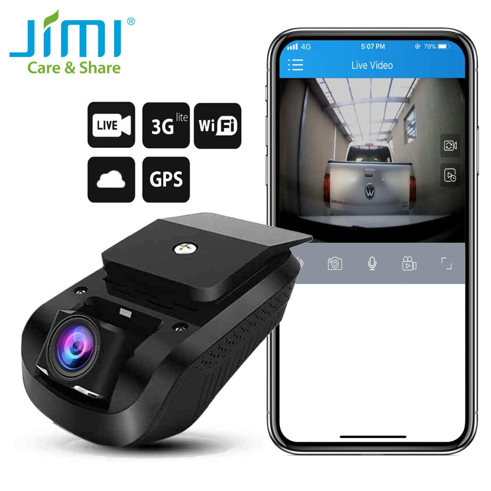<font><b>Jimi</b></font> <font><b>JC100</b></font> 3G Mini Dash Camera 1080P GPS Tracking With Two Cameras Car Dvr Live Streaming Video Recorder Monitoring By PC & APP image