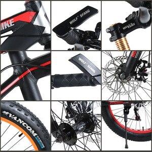Image 5 - Wolf Fang Fiets 7/21/24 Speed Mountainbike 26*4.0 Vet Fiets Bicicleta Mtb Road Vouwfiets mannen Vrouwen Gratis Verzending
