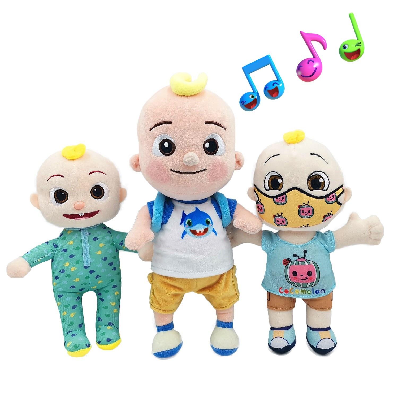 BIG JJ Music Plush Doll Cocomelon Pillow Soft Toys for Baby Plush JJ Doll Educational Stuffed Sing Toys Cute Kids Gift 1