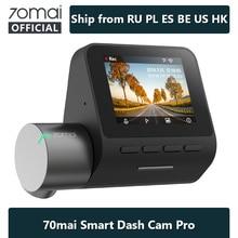 70mai Dash Cam Pro Velocità N coordinate 1944P ADAS Videocamera Per Auto 70MAI Pro Controllo Vocale 24 ore Parcheggio Wifi Auto DVR 70 mai 140FOV