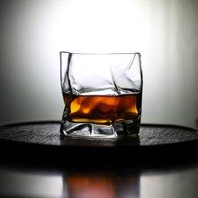 Японский знаменитый дизайнер Макото Комацу искусство работает морщин виски стекло складка стакан для виски бокал для вина бренди снифтеры коньяк чашка