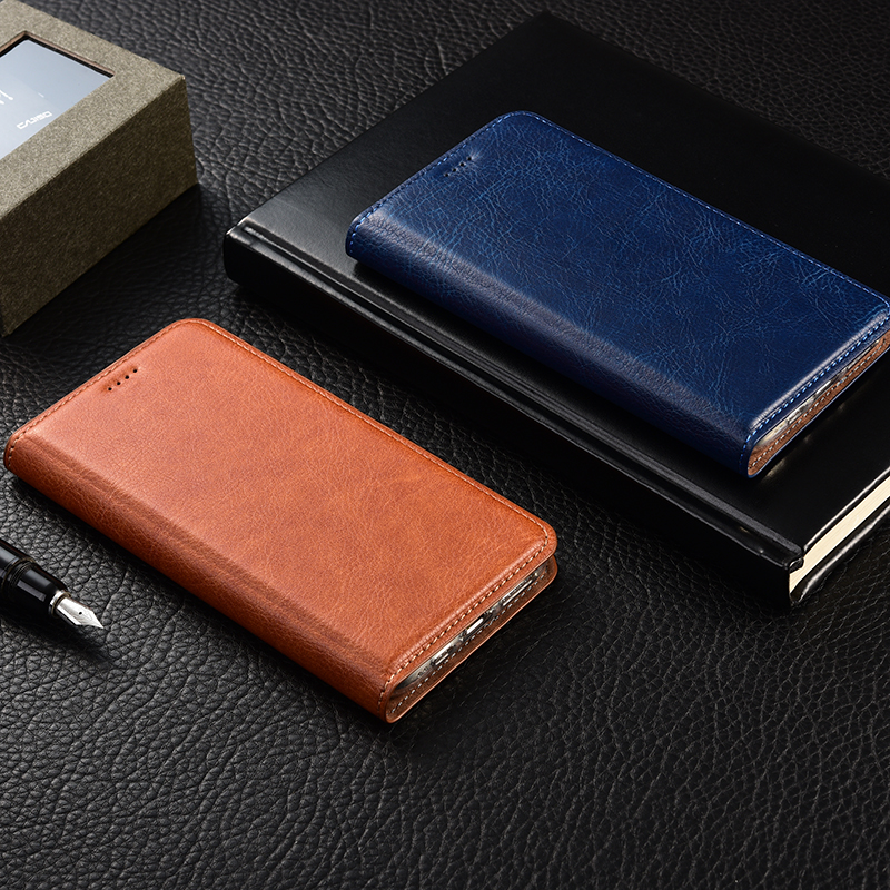Vintage PU Leather <font><b>Case</b></font> For <font><b>Nokia</b></font> <font><b>210</b></font> 3.1C Flip Stand Mobile Phone <font><b>Case</b></font> image
