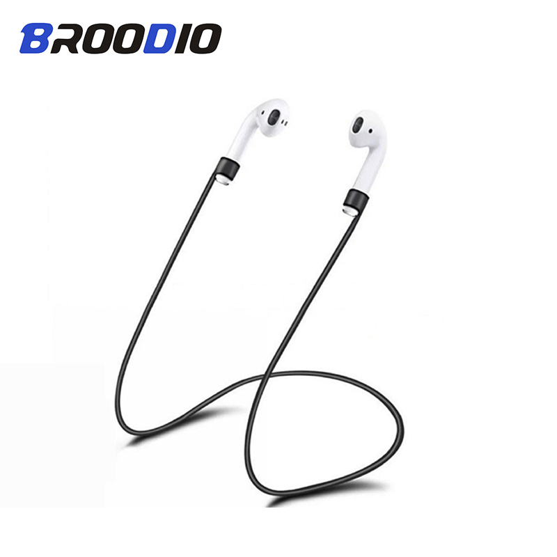 5PCS Earphone Strap For Apple AirPods Accessories Anti-Lost Headphone Cord Earphone String Rope Silicone Cable Neck For Airpods