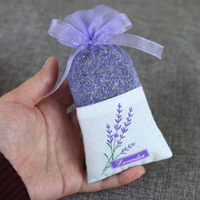 10pcs Floral Printing Lavender Bags Empty Fragrance Pouch Sachets Bag For Relaxing Sleeping Deep  Home