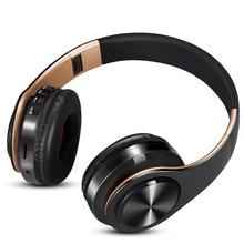 Fones de ouvido bluetooth, headset, sem fio, estéreo, para música, headset, suporte para cartão sd, com microfone para celular, ipad, iphone, huawei