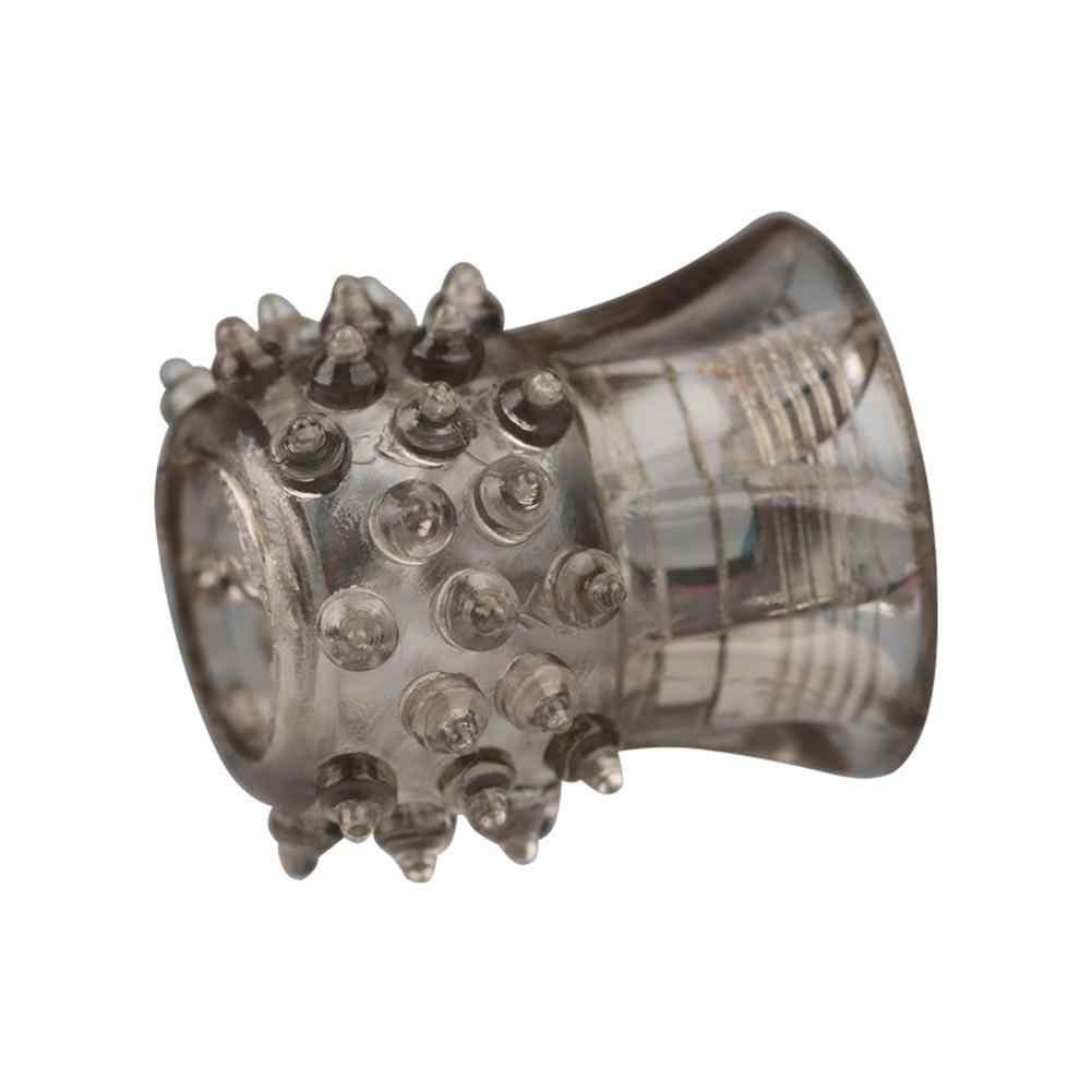 Anéis Penianos de Silicone Reutilizáveis Ejaculação Retardada Anéis Do Pénis Alargamento Extensor Adultos Brinquedos Do Sexo Para Homens Acessórios Eróticos