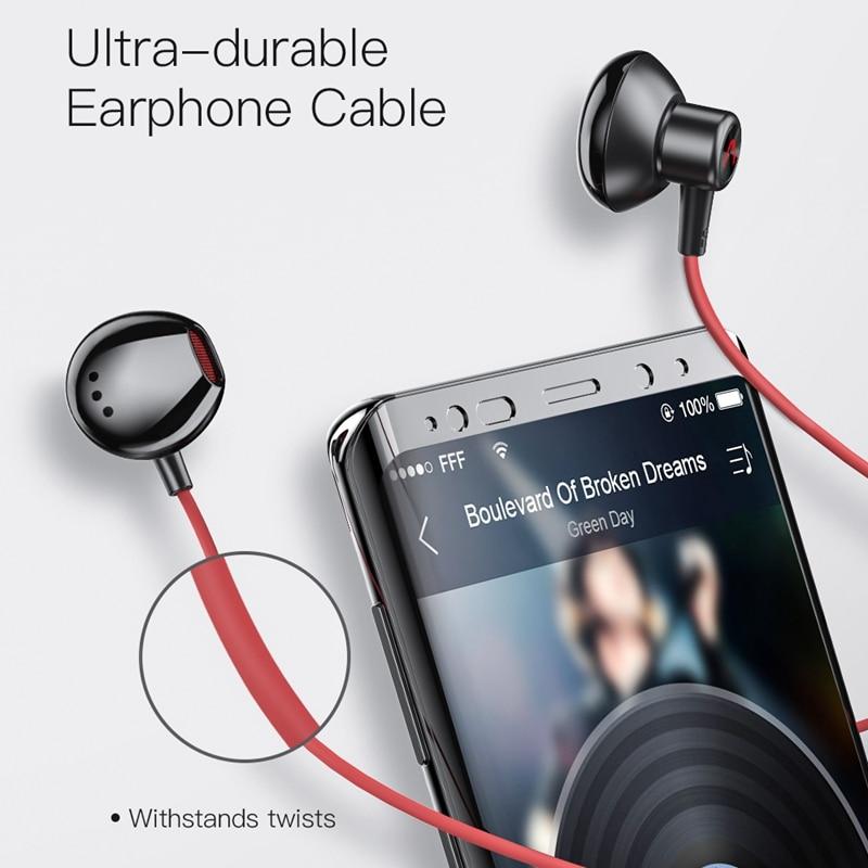 BlitzWolf AIRAUX HE1 Gaming Earphone 3.5mm Stereo HD Call Elegant Dynamic Driver IPX5 Waterproof Headsets with Mic 2