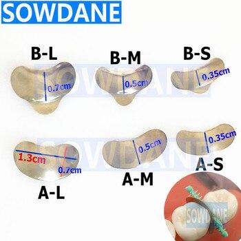 20 Pcs/Set Dental Sectional Contoured Matrices Matrix S/M/L Matrix Bands Tofflemire Stuck dental lab material цена 2017