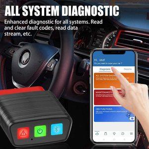Image 3 - OBD 2 بلوتوث قارئ الكود الآلي THINKCAR Pro 15 إعادة الخدمة أداة تشخيصية النظام الكامل OBD2 الماسح الضوئي الأدوات المهنية