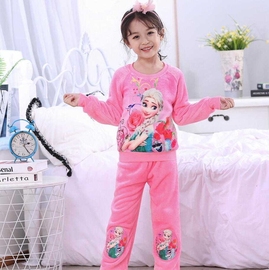 Новинка года; зимняя детская флисовая Пижама; теплая фланелевая одежда для сна; домашняя одежда для девочек из кораллового флиса; детская пижама; домашняя одежда; Пижама для мальчиков - Цвет: model 17