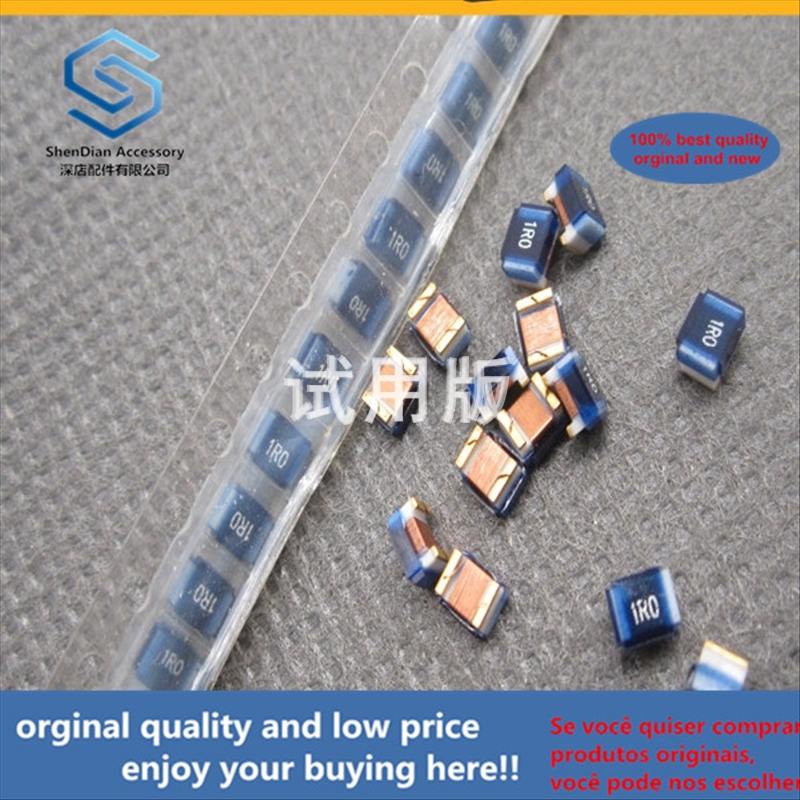 50pcs 100% Orginal New Best Quality FHW1008UC1R0JGT 2520 1uH 320mA RF Wound Inductor SMD Ceramic Core