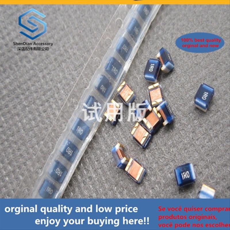 50pcs 100% Orginal New Best Quality FHW1008UC1R0JGT 2520 1uH 320mA RF Wound Inductor SMD Ceramic Core