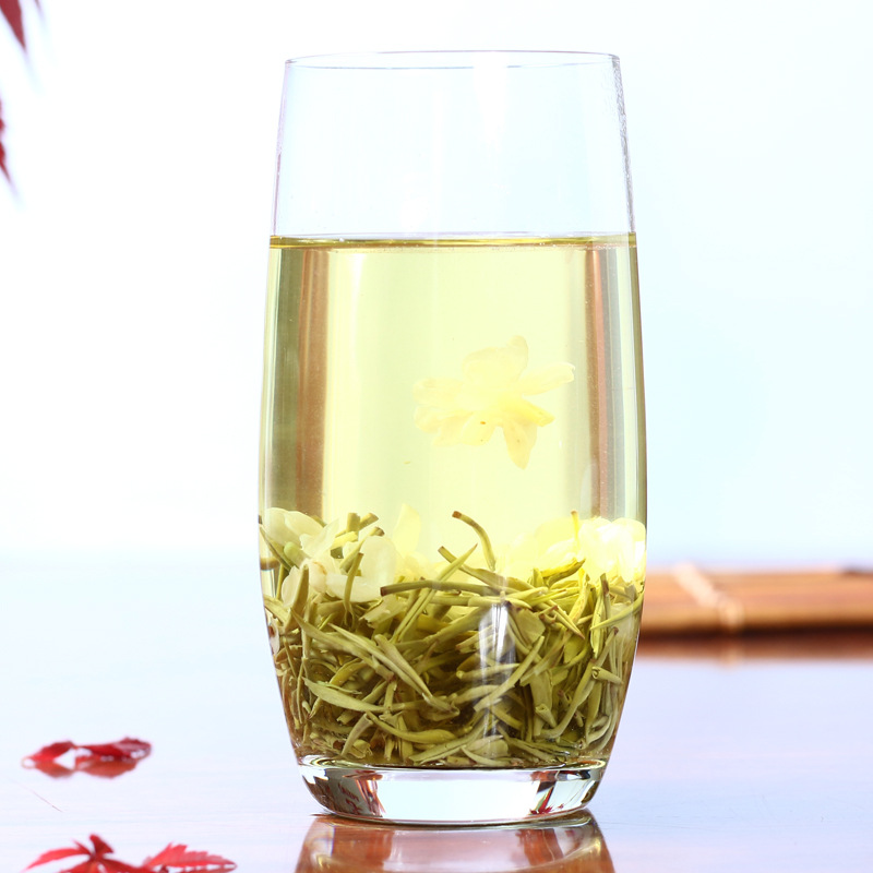 Chinese Jasmine Flower Green Tea Real Organic New Early Spring Jasmine Tea for Weight Loss Green Food Health Care 4