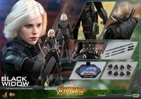Hot Toys MMS460 Black Widow Scarlett Johansson 1/6 Avengers Ironman Infinity War