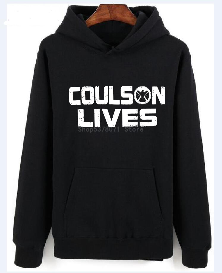 Marvel Agents Of Shield Coulson Lives Marvel Comics Licensed Adult Sweaters