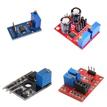 Ne555 pulso frequência dever ciclo ajustável módulo quadrado onda 5v-12v gerador de sinal