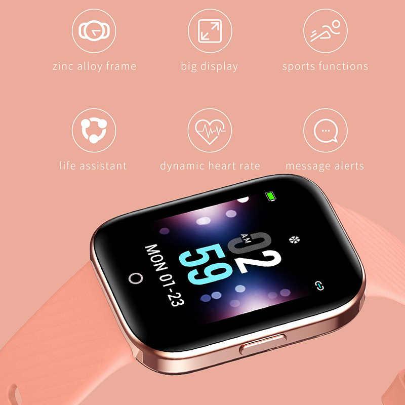 New IP68 Waterproof Smart Watch Men Women Heart Rate Sleep Monitor Pedometer Sport Smartwatch Remote Control Camera Smart Watch