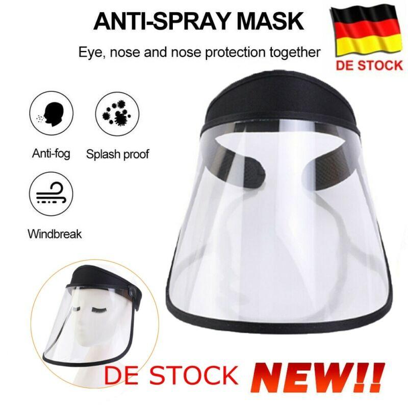 Multi-function Protective Cap Anti Infection Protective Hat Eye Protection Anti-fog Windproof Hat Anti-saliva Face Cover Cap
