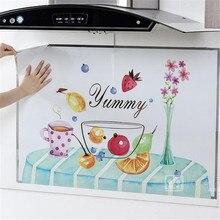 Кухонная настенная плита из алюминиевой фольги Настенная Наклейка il-proof Водонепроницаемая противообрастающая высокотемпературная самоклеющаяся кроппаемая DIY
