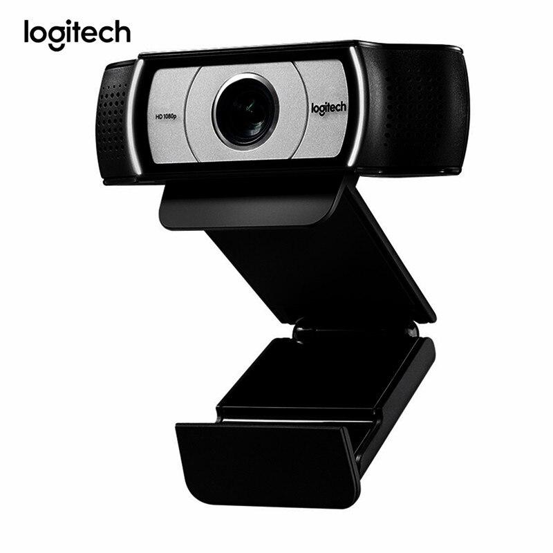 Logitech C930e 1080P 30fps HD Webcam multi-plateforme logiciel de conférence caméra obturateur de confidentialité vue à 90 degrés Web Cam pour Skype