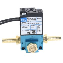 MAC 3 Port Electronic Boost Control Solenoid Valve  35A-ACA-DDBA-1BA With Brass Silencer