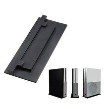 Suporte vertical proteger aberturas de resfriamento console de jogo preto seguro base de suporte antiderrapante pés montagem doca de economia de espaço para xbox um s