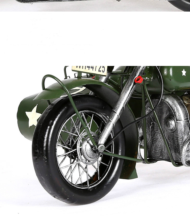 Europese Vintage Home Decor Motorfiets Model Creatieve Metaal Ambachten Verjaardag Geschenken Collectie Souveni Woondecoratie Accessoires - 6