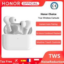 Оригинальные беспроводные наушники Honor X1 Choice, настоящие беспроводные наушники TWS, Bluetooth наушники с двойным микрофоном и шумоподавлением, ...