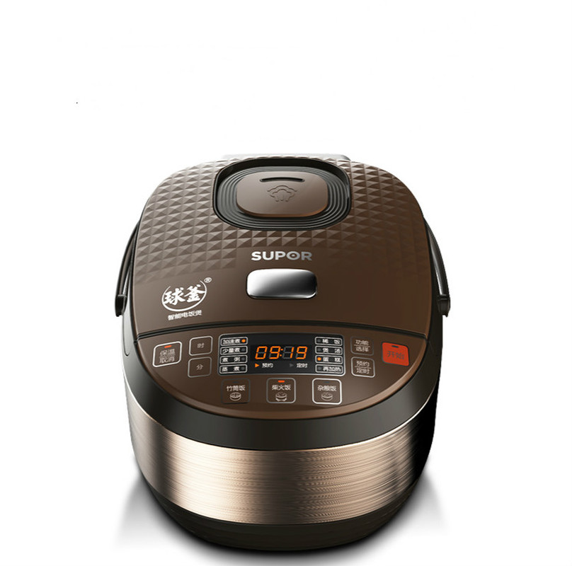 Ball Kettle Rice Cooker 5L Intelligent Large Capacity Rice Cooker Home Automatic Multi-function Genuine 8 People 1