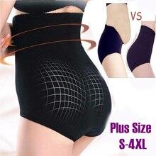 Plus size Slimming Pants high waist butt lifter panties women trainer Body Shaper slimming Shapewear corrective underwear