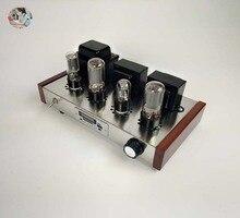 2021 wzmacniacze lampowe Nobsound Radio /USB/ MP3 6H9C + 6P3P obudowa ze stali nierdzewnej moc wyjściowa 2*7W AC110V/220V opcjonalnie