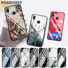WEBBEDEPP The bring me horizon Glass Case for Huawei P10 lite P20 Pro P30 P Smart honor 7A 8X 9 10 Y6 Mate 20