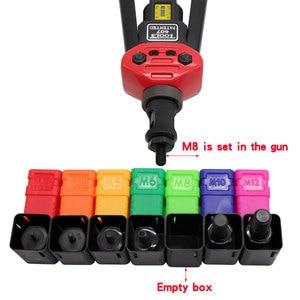 Image 2 - Pistolas para remaches y tuercas de 17 pulgadas, #607, inserto Manual, Tuercas remachadoras, herramienta de mandriles, pistola para tuerca remachadora M3/M4/M5/M6/M8/M10/M12