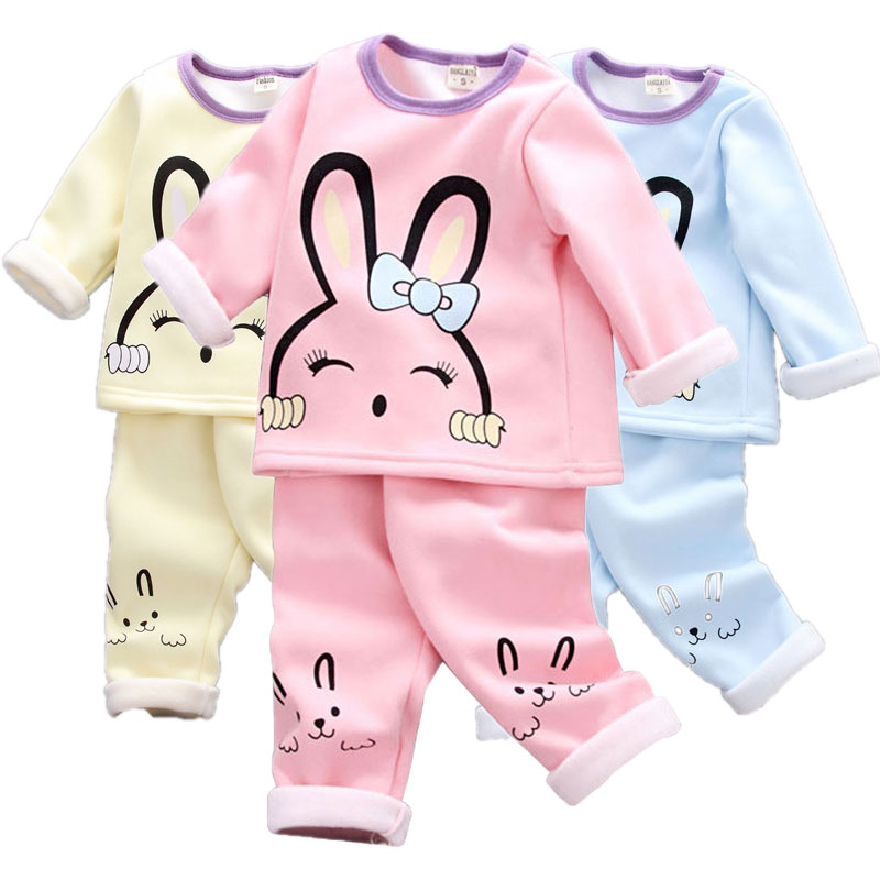 Baby Girl Clothes Two-piece Cotton Suit Clothes Baby Girl Clothes Cute Mickey Cartoon Dot Print Casual Sportswear Baby Clothes
