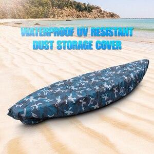 Image 1 - المهنية غطاء قارب العالمي التمويه قارب كاياك قارب مقاوم للماء UV مقاومة الغبار غطاء التخزين درع غطاء قارب