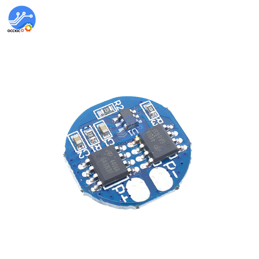 Bms 2S Lithium Battery Charge Protectiong Board 5A 7.4V 8.4V 18650 Battery Balancer PCM Equalizer Board Circuit For Electric