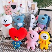 Hot sale Kola Plush Stuffed Toy Heart Sheep Rabbit Dog Korea idol doll Cushion Gift For fans