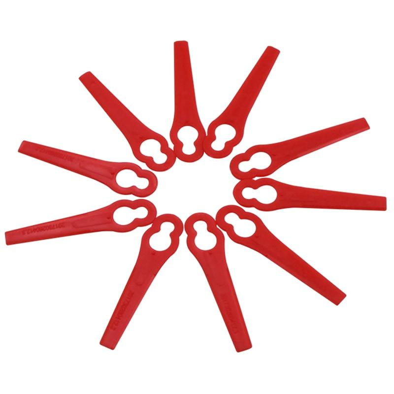 120Pcs untuk Florabest Lidl Frta 20 A1 Lidl Ian 282232 Plastik Pengganti Cutter untuk Florabest Pemangkas Rumput Brushcutte