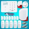 HOMSECUR Беспроводной и Проводной LCD 3G/ Телефоннная линия Домашняя Система Сигнализации