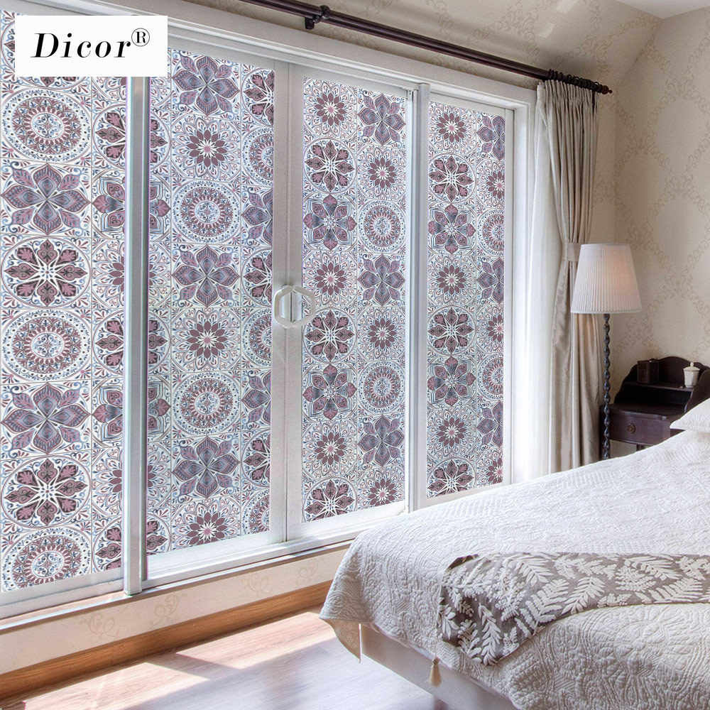 2020 Modern Design Window Privacy Film Cling Frosted Opaque Stained Glass Stickers Home Decoration Window Decals Can Custom Size Aliexpress