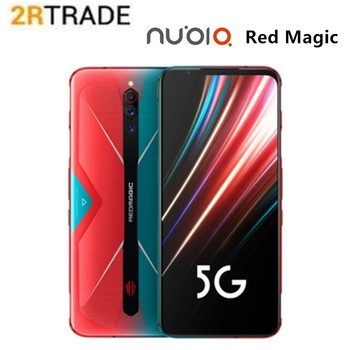 Globalna wersja Red magic 5G Snapdragon 865 inteligentny telefon 6.65 144HZ wyświetlacz NFC 8G 128G LPDDR5 UFS3.0 64MP wentylator chłodzący