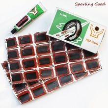 Cycling-Puncture-Repair-Tools-Kits Tyre-Rubber-Patch Bicycle Bike Tire 48pcs Piece 1-Glue