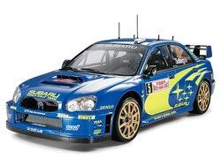 TAMIYA-voiture en plastique, échelle 1:24, Impreza WRC, Collection de voitures, Kit de construction à réaliser soi-même, 24281