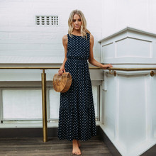 Polka Dot Dress Womens Oversize Clothing  For Women Summer Hot Sale Runway Vogue Clothes Office Instagram Fashion 2019